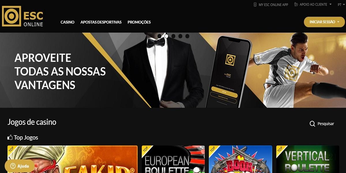 foto2 do site ESC Online cassino