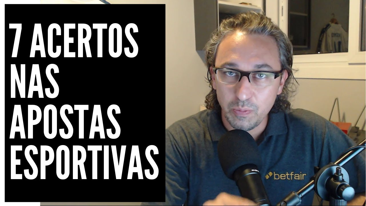 foto do video sobre os 7 acertos nas apostas esportivas